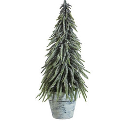Christmastree plastic 56cm green