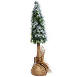 Christmastree Elegance plastic 60cm green-natural