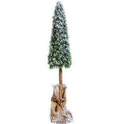 Christmastree Elegance plastic 80cm green-natural