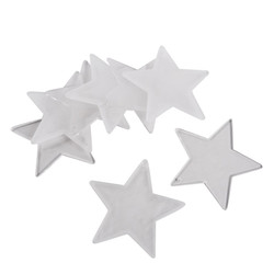 Stars Table Bedding Deco Set-12 acryl 5x5cm clear