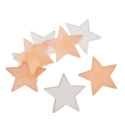 Stars Table Bedding Deco Set-8 acryl 7x7cm copper