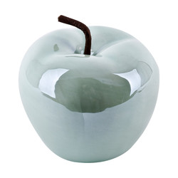 Apple -Pearly Design- Deco-Object porcelain 12x13x13cm...