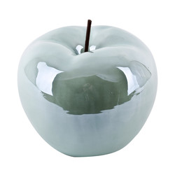 Apple -Pearly Design- Deco-Object porcelain 17x14x14cm...