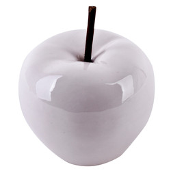 Apple -Pearly Design- Deco-Object porcelain 11x9x9cm...