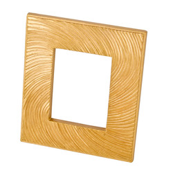 Photo-Frame Classic-Design polyresin 14x12x2cm gold