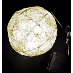 Light Ball 40 LED Natural 30x30cm Timer In-Outdoor