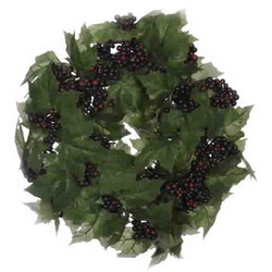 Wreath Ivy 33cm green