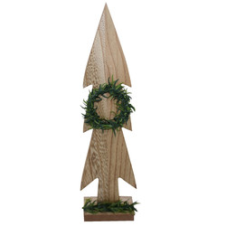 Tree -Country- Deco wood 30cm natural-green