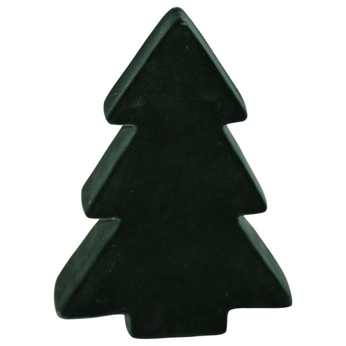 Tree -Velvet- ceramic 20x14x5cm nightgreen