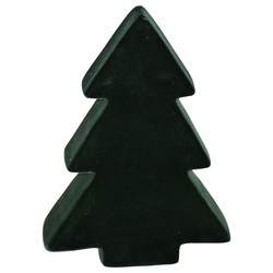 Tree -Velvet- ceramic 25x17x5cm nightgreen