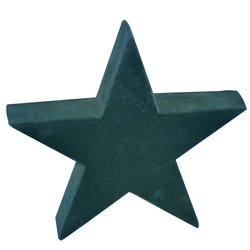 Star -Velvet- ceramic 23x23x5cm nightgreen