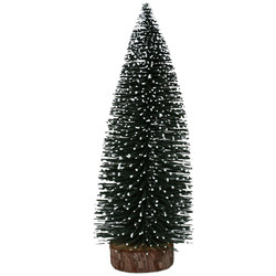 Christmas-Tree -Cosy- plastic 26x10x10cm night-green