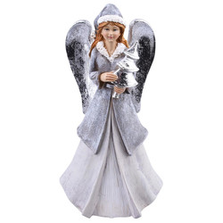Angel Classic-Design Deco-Figure polyresin 18x10x6cm...