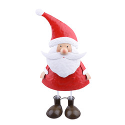 Santa Deco-Figure metal 35x19x12cm red-white