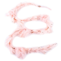 Garland Feathers Deco-Hanger 150x6x6cm light-pink